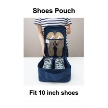Travel Shoes Pouch Organizer Water Proof 10 Inch Shoes (A31)