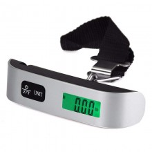 Electronic Luggage Scale Digital Portable Suitcase Travel Scale Weight 110lb/50kg (C52)