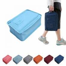 Nylon Shoes Pouch Ver 3 Travel Portable Storage Bag (A42)
