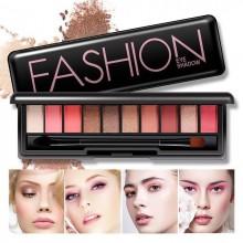 G9 BIOAQUA Fashion 10 Colors Eyeshadow Pallete Makeup Cosmetics