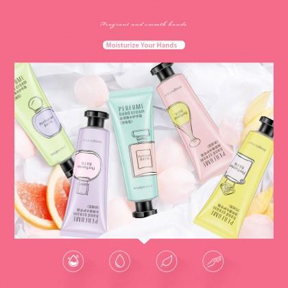 IMAGES LOUFMISS Perfume Hand Cream Lotion Moisturizing Mild Hand Care 30g (A21) Krim Tangan Melembapkan Kulit Tangan