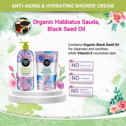 Good Virtues Co GVC Anti-Aging & Hydrating Shower Cream 700ml