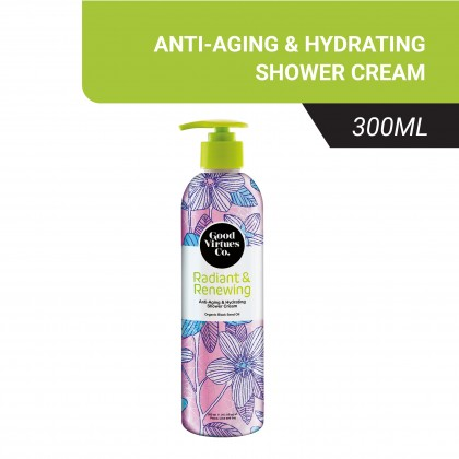 Good Virtues Co Anti-Aging & Hydrating Shower Cream 300ml