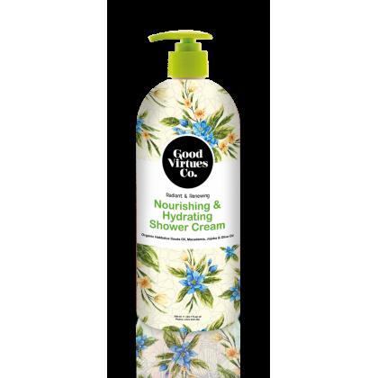 Good Virtues Co GVC Nourishing & Hydrating Shower Cream 700ml