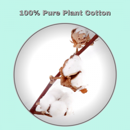 MONKIDS Thin Facial Makeup Cotton Puff 50's Pure Plant Face Make up Skincare Cotton