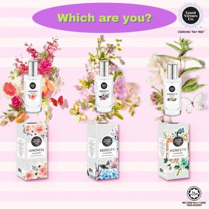 G9 Good Virtues Co Kindness eau de toilette 50ml Women Halal Perfume Fragrance